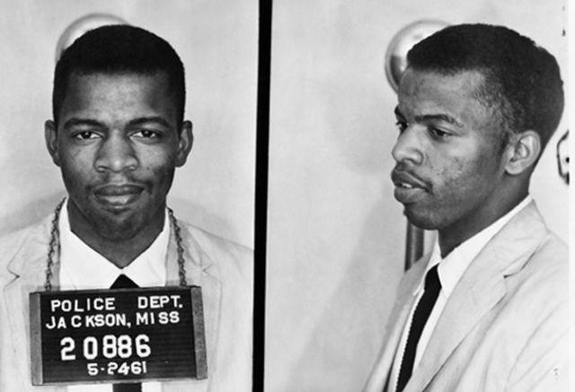 Mugshots of Civil Rights Activist Freedom Riders in Jackson