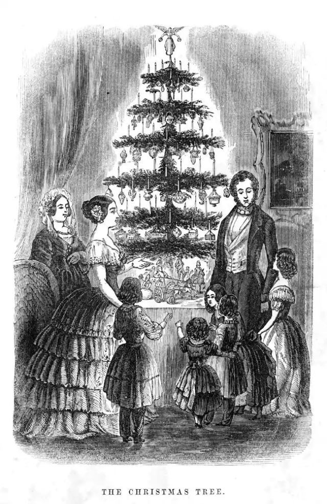 The History of Christmas Trees – How Did the Tree Come to America   Vintage News Daily