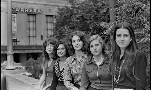 Young People Of Santiago Chile In The Early 1970s Through Amazing