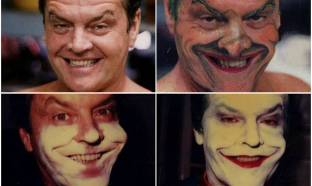 Amazing Behind the Scenes Photos of Jack Nicholson's Makeup Transformation to Become the Joker for 'Batman' (1989) | Vintage News Daily
