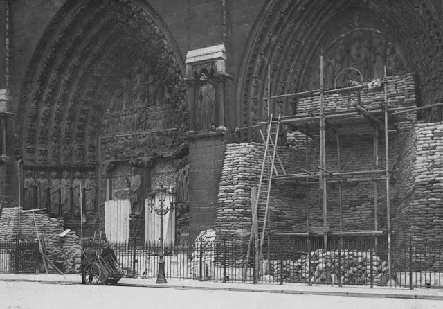 A proteção aos monumentos era uma preocupação dos parisienses